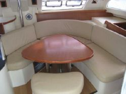 Preowned Sail Catamarans for Sale 2007 Leopard 43  Layout & Accommodations