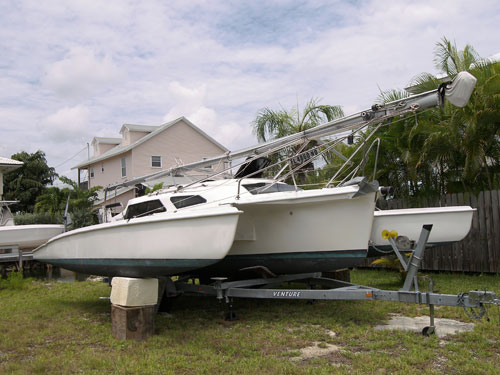Used Sail Trimaran for Sale 2006 Telstar 28  Boat Highlights