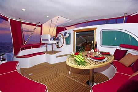 Used Sail Catamaran for Sale 2006 Privilege 495 Deck & Equipment
