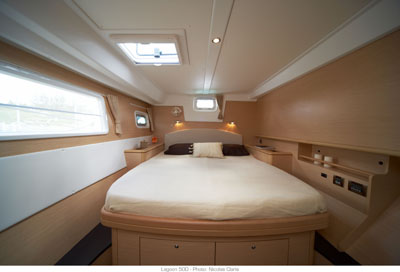 Preowned Sail Catamarans for Sale 2010 Lagoon 500 Layout & Accommodations