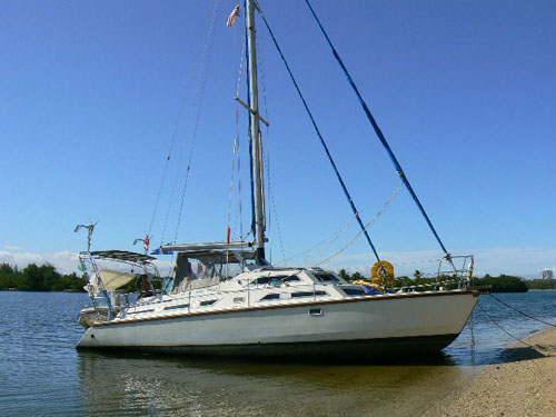 Preowned Sail Catamarans for Sale 1987 Sunstream Boat Highlights