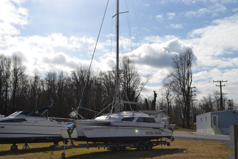 Preowned Sail Catamarans for Sale 2005 Telstar 28  Boat Highlights