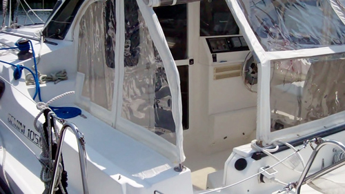 Used Sail Catamaran for Sale 2004 Gemini 105Mc Deck & Equipment