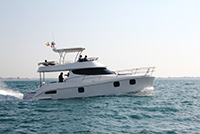 New Power Catamaran for Sale  Fisher 435 Boat Highlights