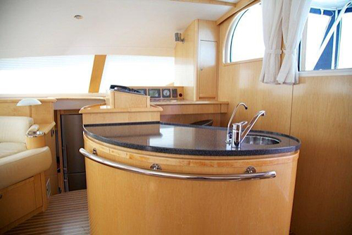 Preowned Sail Catamarans for Sale 2006 Privilege 585 Layout & Accommodations