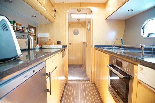 Preowned Sail Catamarans for Sale 2006 Privilege 585 Galley