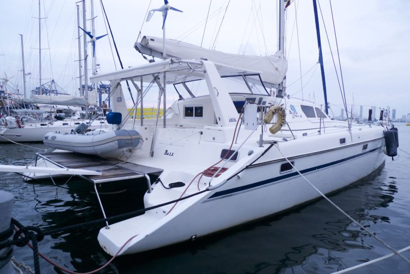 Preowned Sail Catamarans for Sale 2005 St. Francis 50 Boat Highlights