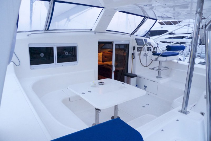 Preowned Sail Catamarans for Sale 2005 St. Francis 50 Deck & Equipment