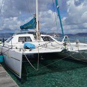 Used Sail Catamaran for Sale 1995 Lagoon 57 Boat Highlights