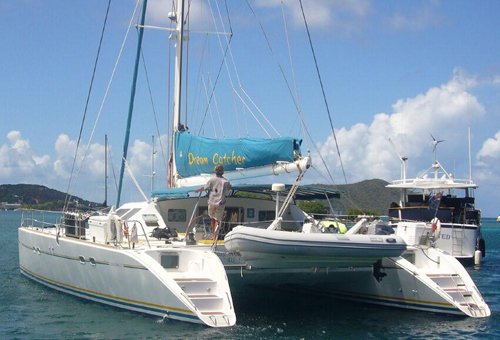 Preowned Sail Catamarans for Sale 1995 Lagoon 57 Boat Highlights