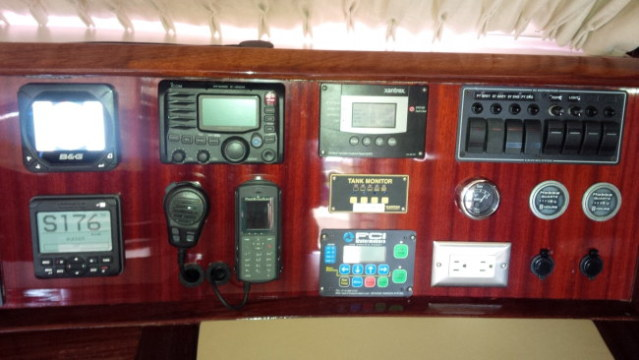 Preowned Sail Catamarans for Sale 1994 Marquises 56 Electronics & Navigation