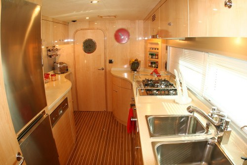 Preowned Sail Catamarans for Sale 2008 Privilege 745 Galley