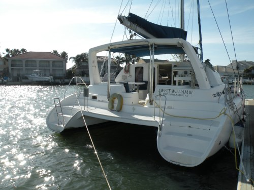 Preowned Sail Catamarans for Sale 2001 Moorings 3800 Boat Highlights
