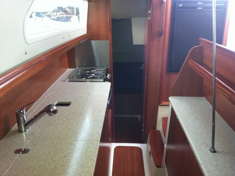 Preowned Sail Catamarans for Sale 2012 Gemini 105Mc Layout & Accommodations