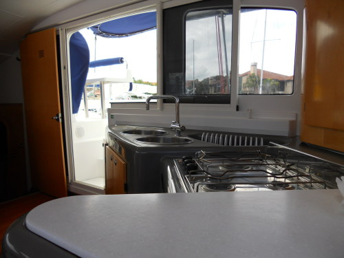 Used Sail Catamaran for Sale 2006 Lavezzi 40 Galley