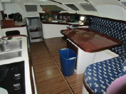 Used Sail Catamaran for Sale 2000 Outremer 55 Light Layout & Accommodations
