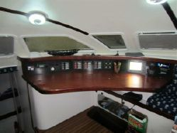 Preowned Sail Catamarans for Sale 2000 Outremer 55 Light Layout & Accommodations