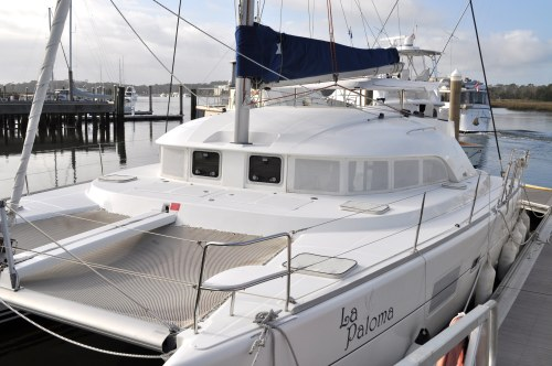 Preowned Sail Catamarans for Sale 2007 Lagoon 380 S2 Boat Highlights