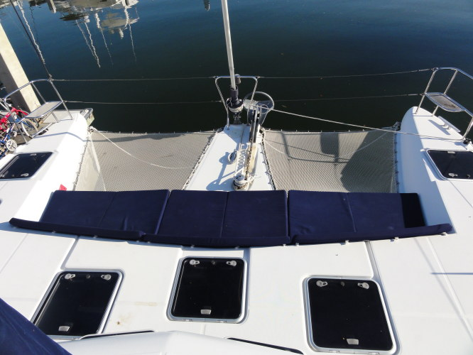 Used Sail Catamaran for Sale 2007 Lagoon 420 Deck & Equipment