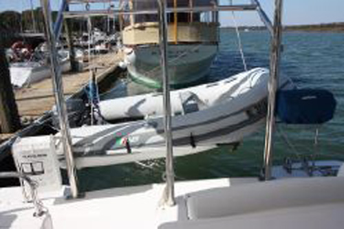 Preowned Sail Catamarans for Sale 2011 Leopard 39 Deck & Equipment