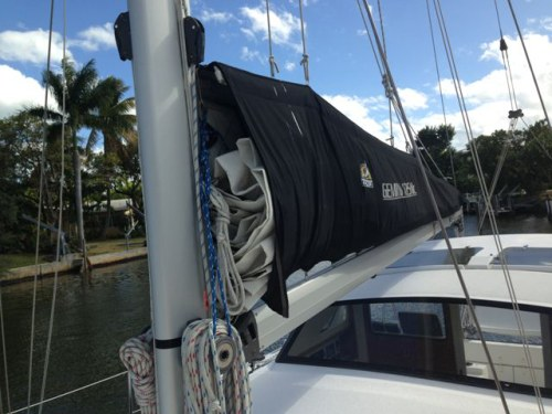 Preowned Sail Catamarans for Sale 2010 Gemini 105Mc Sails & Rigging