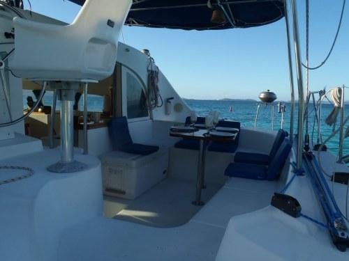 Preowned Sail Catamarans for Sale 2000 Lagoon 380 Deck & Equipment