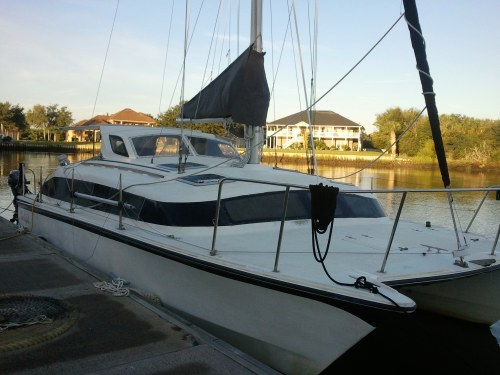 Preowned Sail Catamarans for Sale 1990 Gemini 3200 Boat Highlights