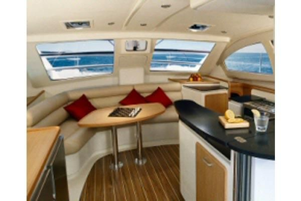 Preowned Sail Catamarans for Sale 2008 Leopard 40 Layout & Accommodations