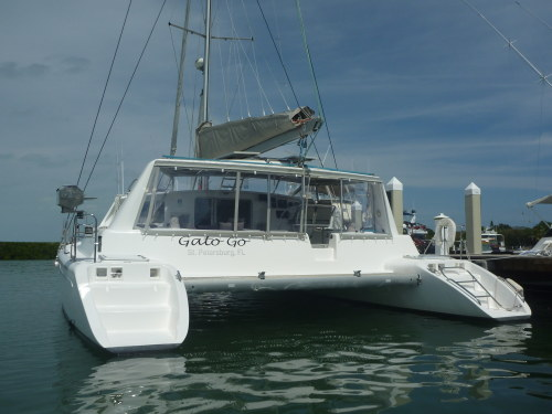 Preowned Sail Catamarans for Sale 2002 Voyage 440 Boat Highlights