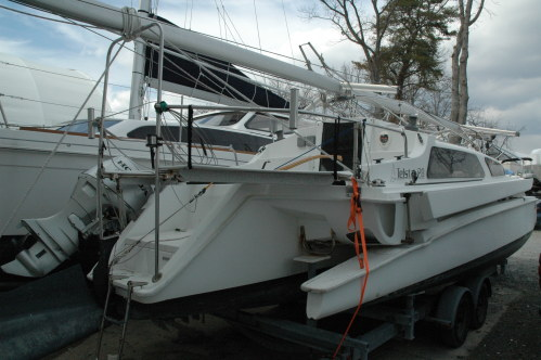 Used Sail Trimaran for Sale 2007 Telstar 28  Boat Highlights