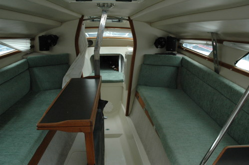 Used Sail Trimaran for Sale 2007 Telstar 28  Layout & Accommodations