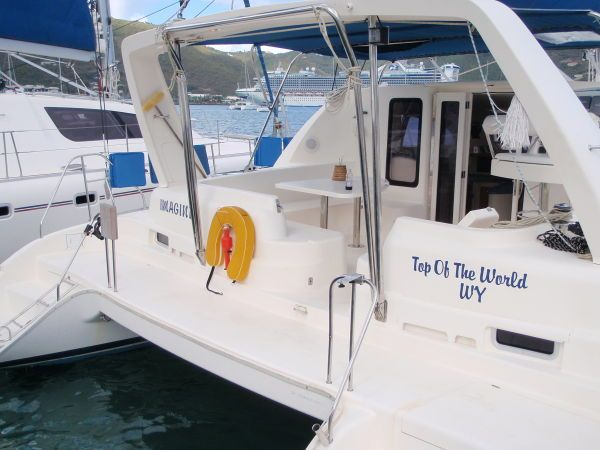 Used Sail Catamaran for Sale 2003 Leopard 42 Boat Highlights
