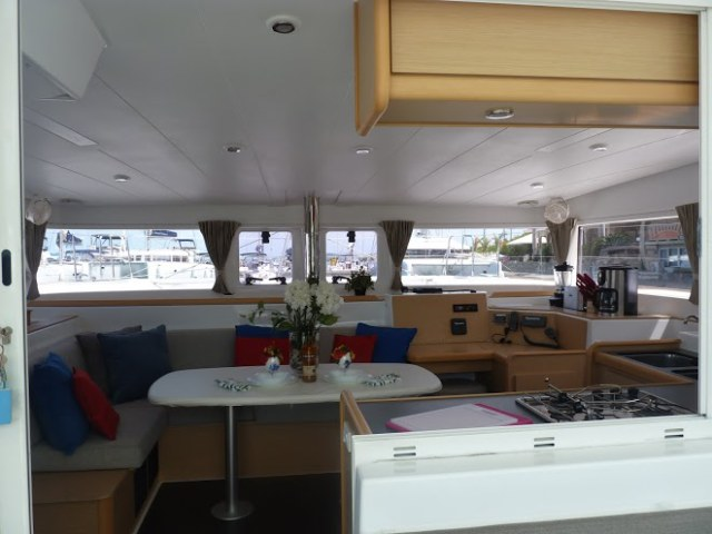 Preowned Sail Catamarans for Sale 2013 Lagoon 400 Layout & Accommodations