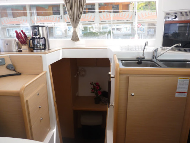 Preowned Sail Catamarans for Sale 2013 Lagoon 400 Galley