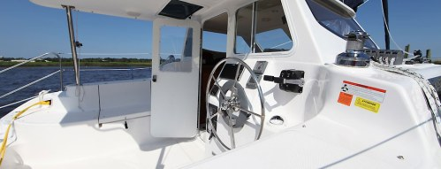New Sail Catamarans for Sale 2013 Legacy 35 Deck & Equipment