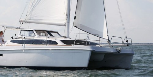 New Sail Catamarans for Sale 2013 Legacy 35 Boat Highlights