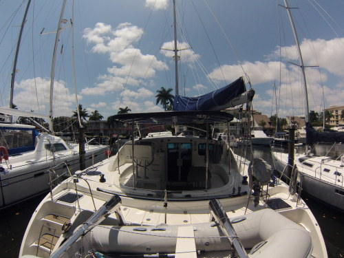Preowned Sail Catamarans for Sale 2007 Broadblue 415 Boat Highlights