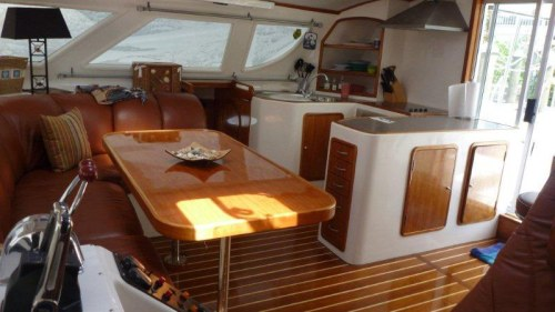 Preowned Power Catamarans for Sale 2003 Prowler 45 Galley