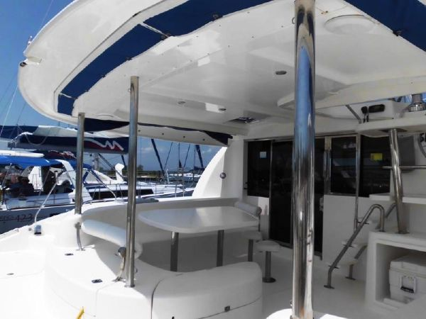 Used Sail Catamaran for Sale 2009 Leopard 46  Deck & Equipment