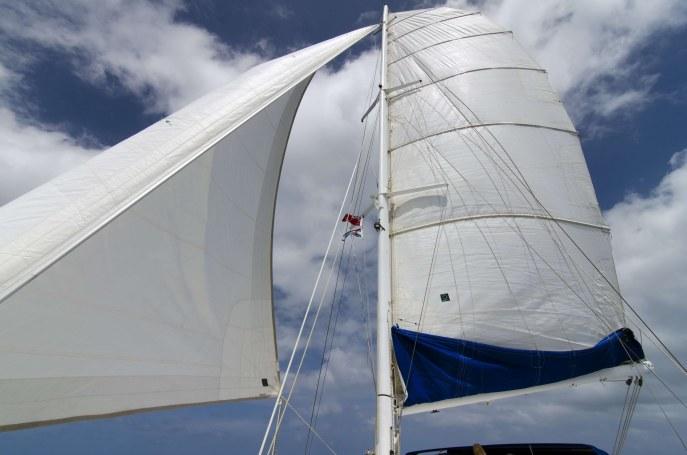 Preowned Sail Catamarans for Sale 1995 Norseman 400 Sails & Rigging