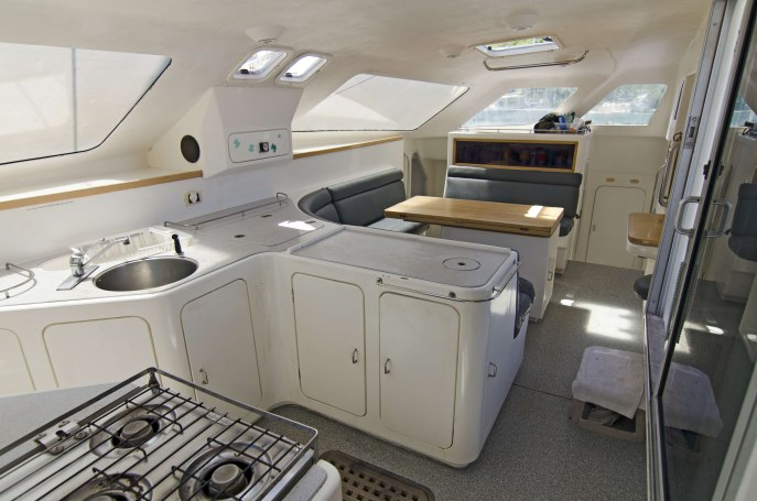 Preowned Sail Catamarans for Sale 1995 Norseman 400 Galley