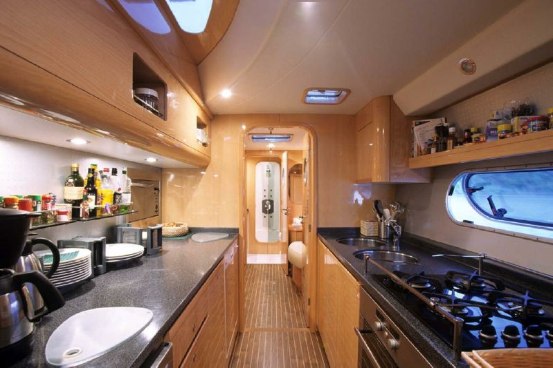 Used Sail Catamarans for Sale 2006 Privilege 585 Galley