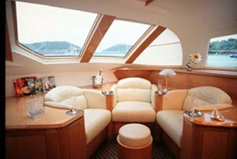 Used Sail Catamarans for Sale 2006 Privilege 585 Layout & Accommodations