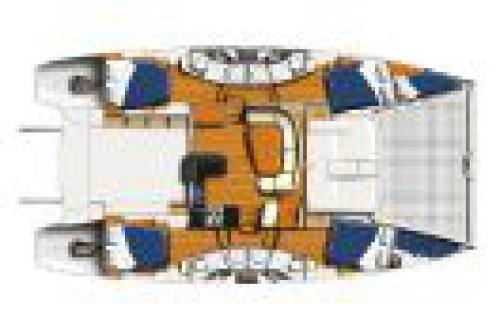 Preowned Sail Catamarans for Sale 2010 Leopard 46  Deck & Equipment