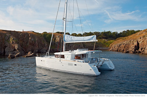 New Sail Catamaran for Sale 2013 Lagoon 450 Boat Highlights
