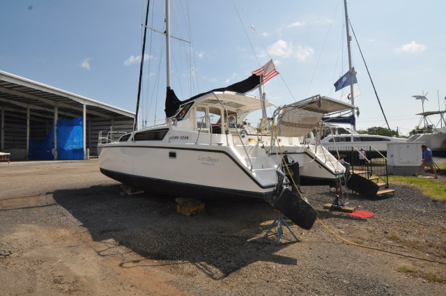 Preowned Sail Catamarans for Sale 2005 Gemini 105Mc Boat Highlights