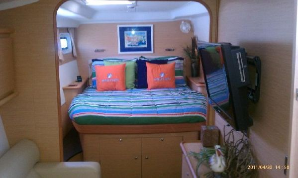 Preowned Sail Catamarans for Sale 2008 Lagoon 440 Layout & Accommodations