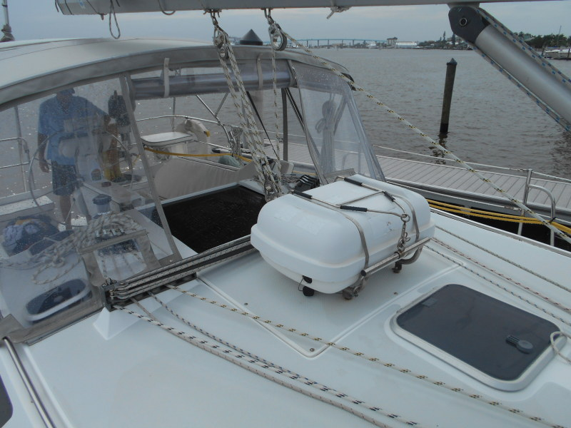Preowned Sail Catamarans for Sale 1997 Catalina 42 Deck & Equipment