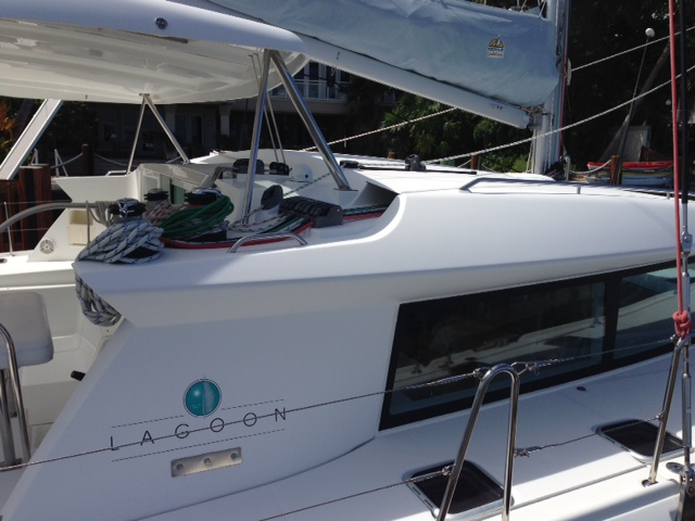 Preowned Sail Catamarans for Sale 2008 Lagoon 420 Deck & Equipment