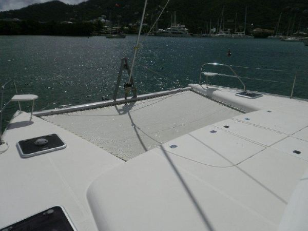 Preowned Sail Catamarans for Sale 2008 Leopard 46  Deck & Equipment